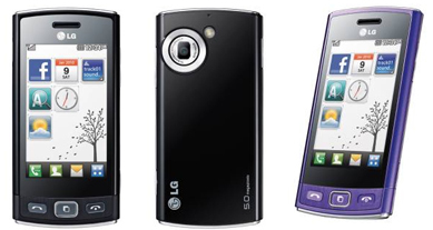 LG GM350 Viewty Snap