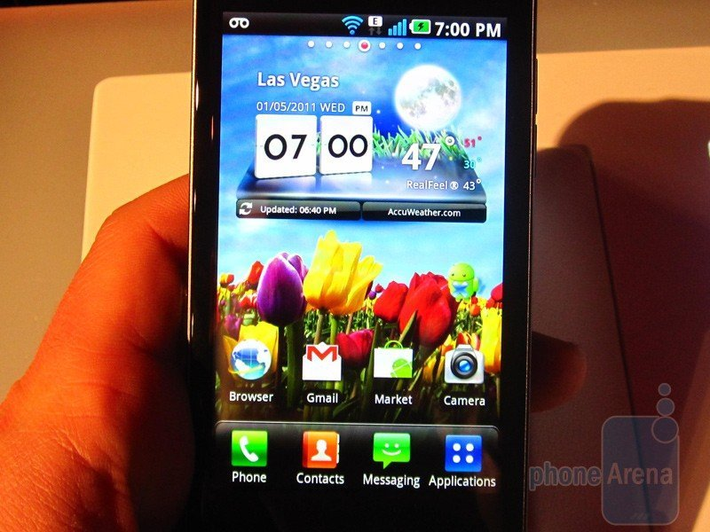 LG Optimus 2X live