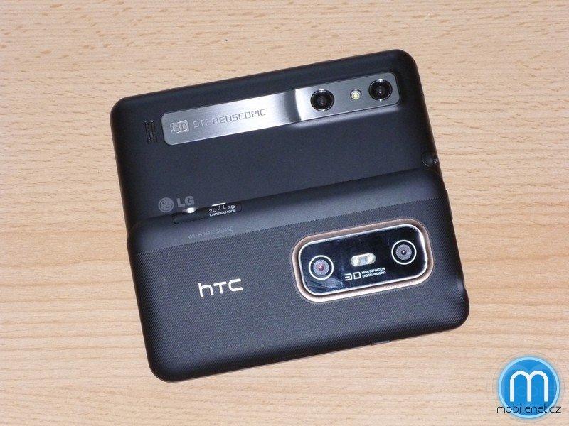 LG Optimus 3D a HTC EVO 3D