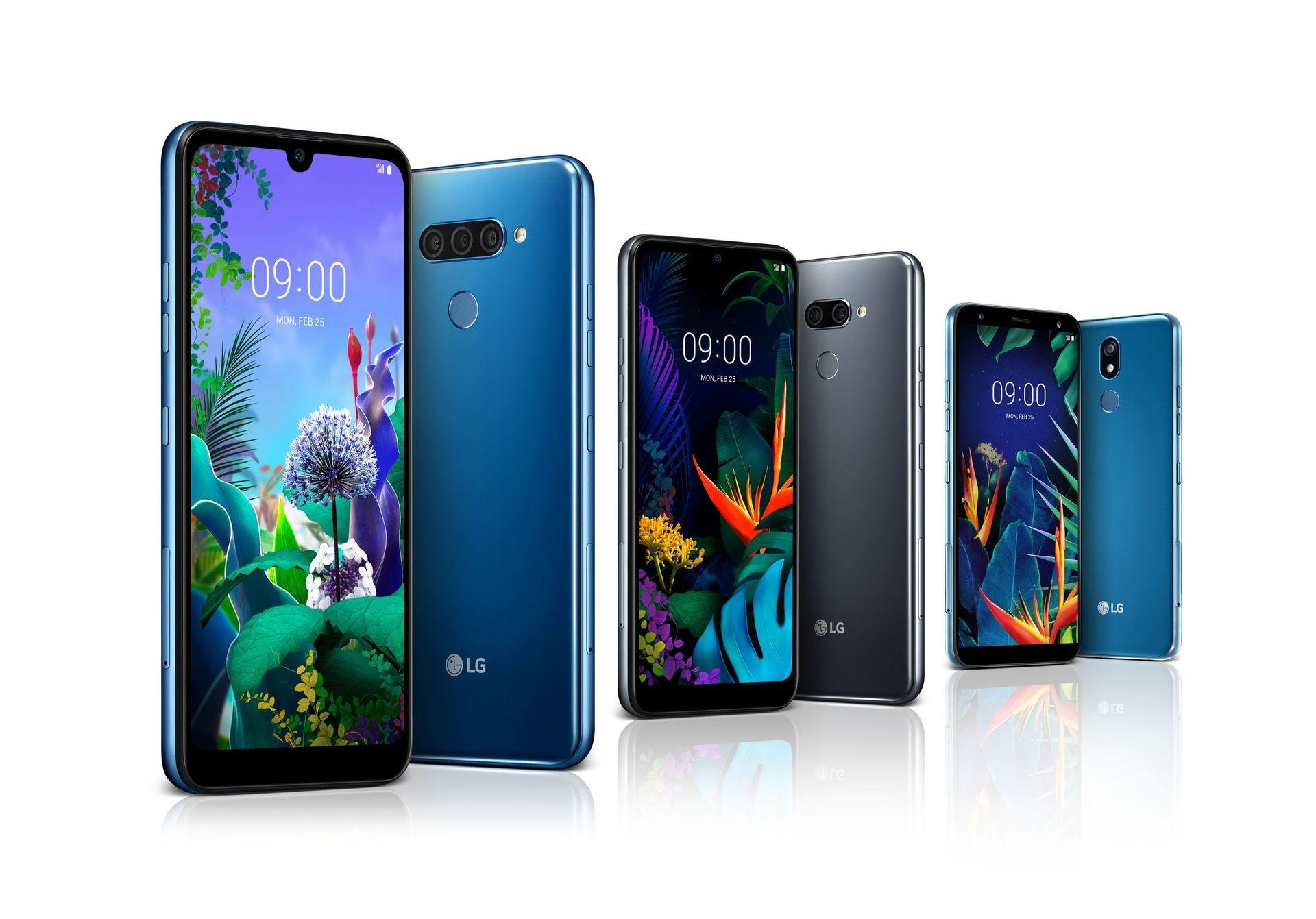 LG Q60, LG K50, LG K40
