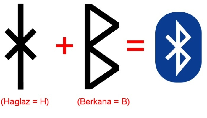 Logo Bluetooth vzniklo z inciál Haralda I.