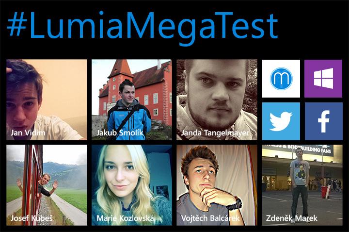 #LumiaMegaTest