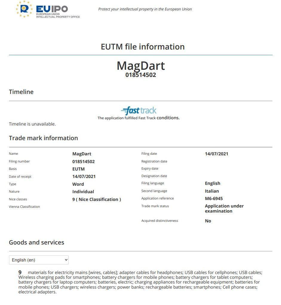 MagDart