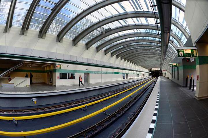 metro - pokrývání signálem