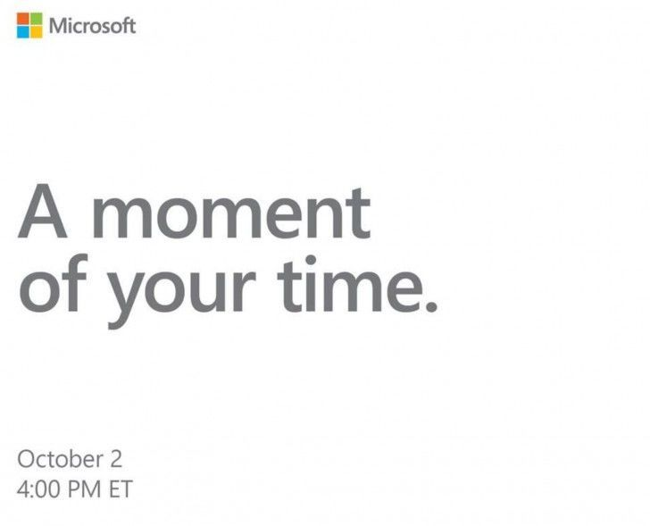 Microsoft 2. října