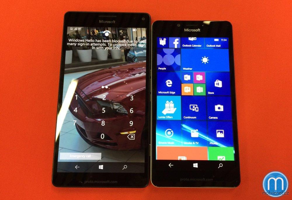 Microsoft Lumia 950 a 950 XL
