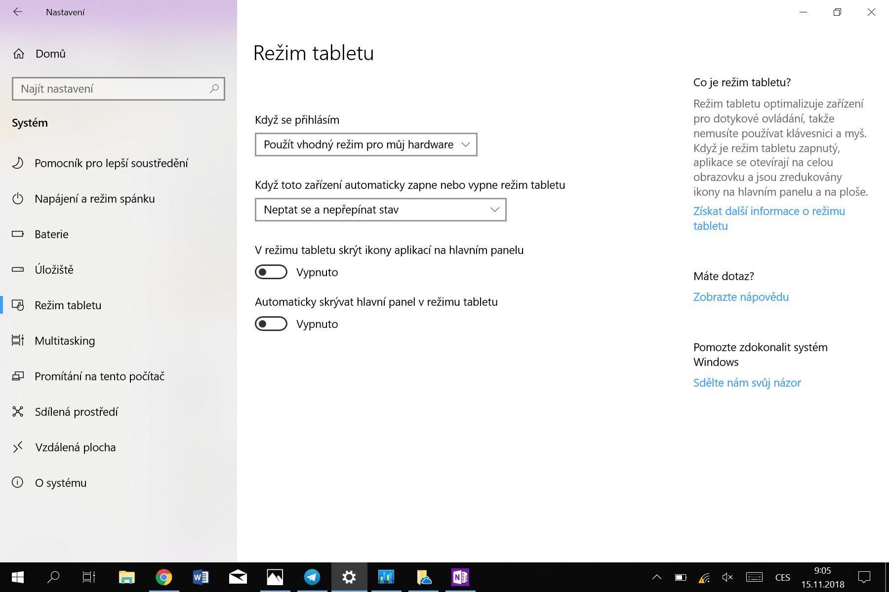 Microsoft Surface Go software