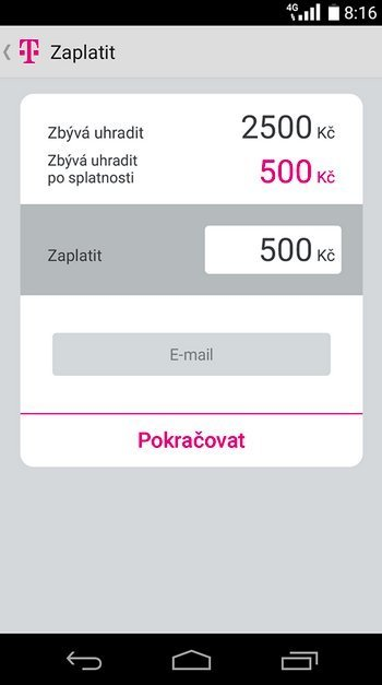 Můj T-Mobile Android