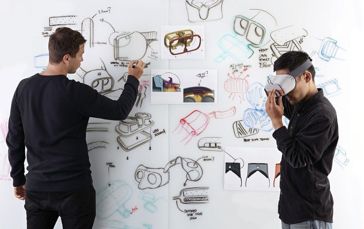 Návrhy VR brýlí Google Daydream View