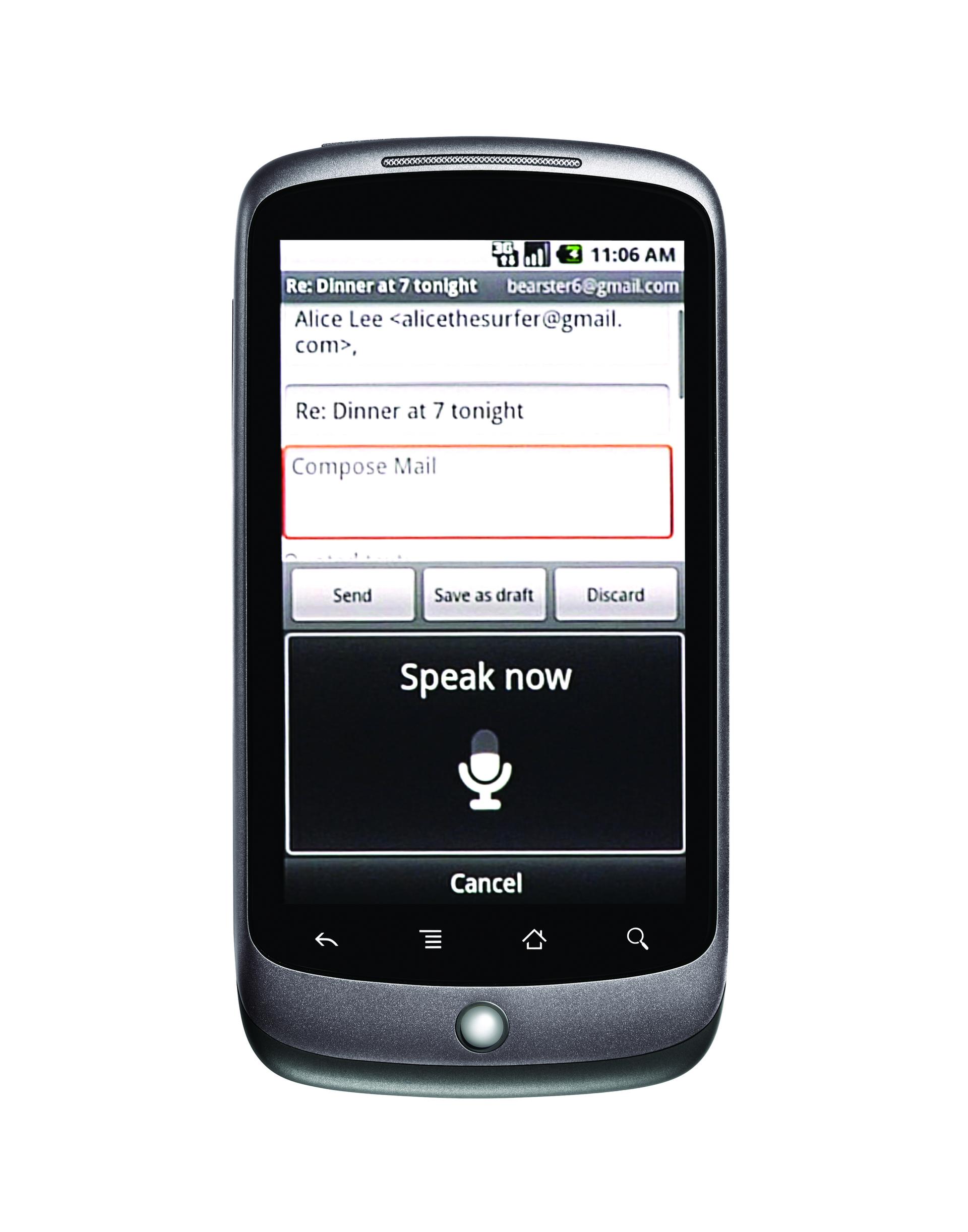Nexus One: první Google telefon je tady