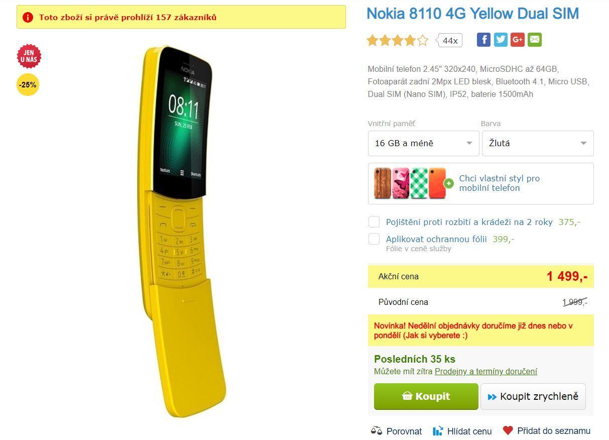 """Nokia 8110 \""""banán\"""""""