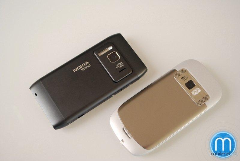 Nokia C7 a Nokia N8