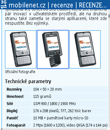 Nokia E60   mobilenet cz