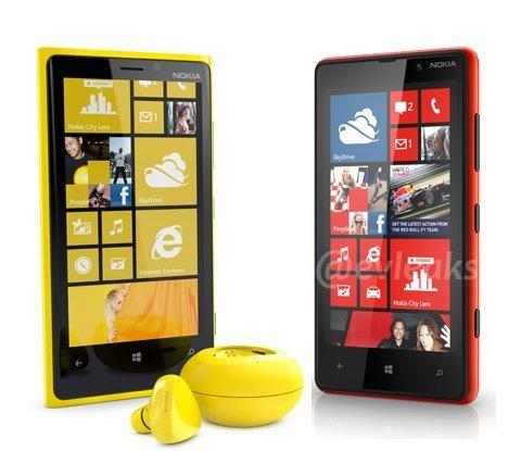 Nokia Lumia 820 a Lumia 920