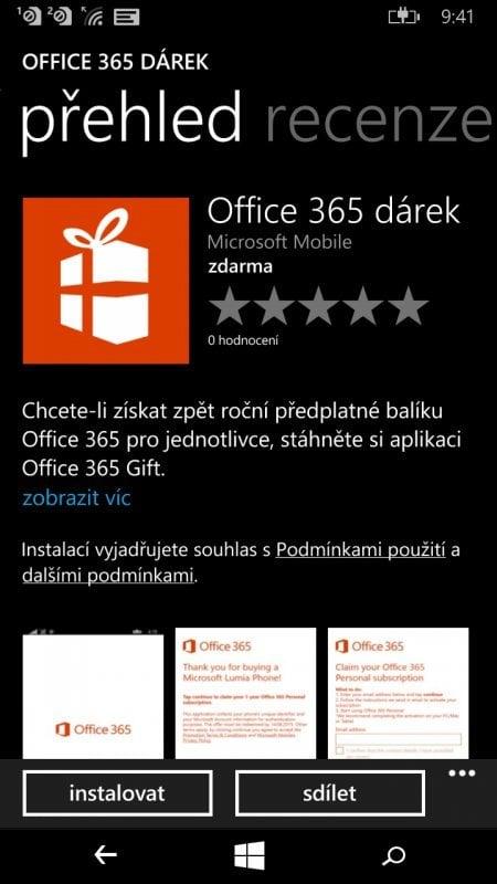 Office 365 Dárek