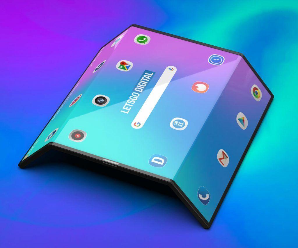 Ohebný Xiaomi smartphone