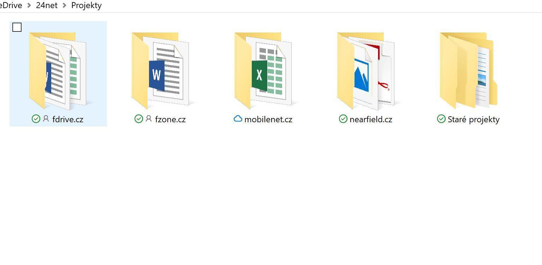 OneDrive ve Windows 10 Fall Creators update