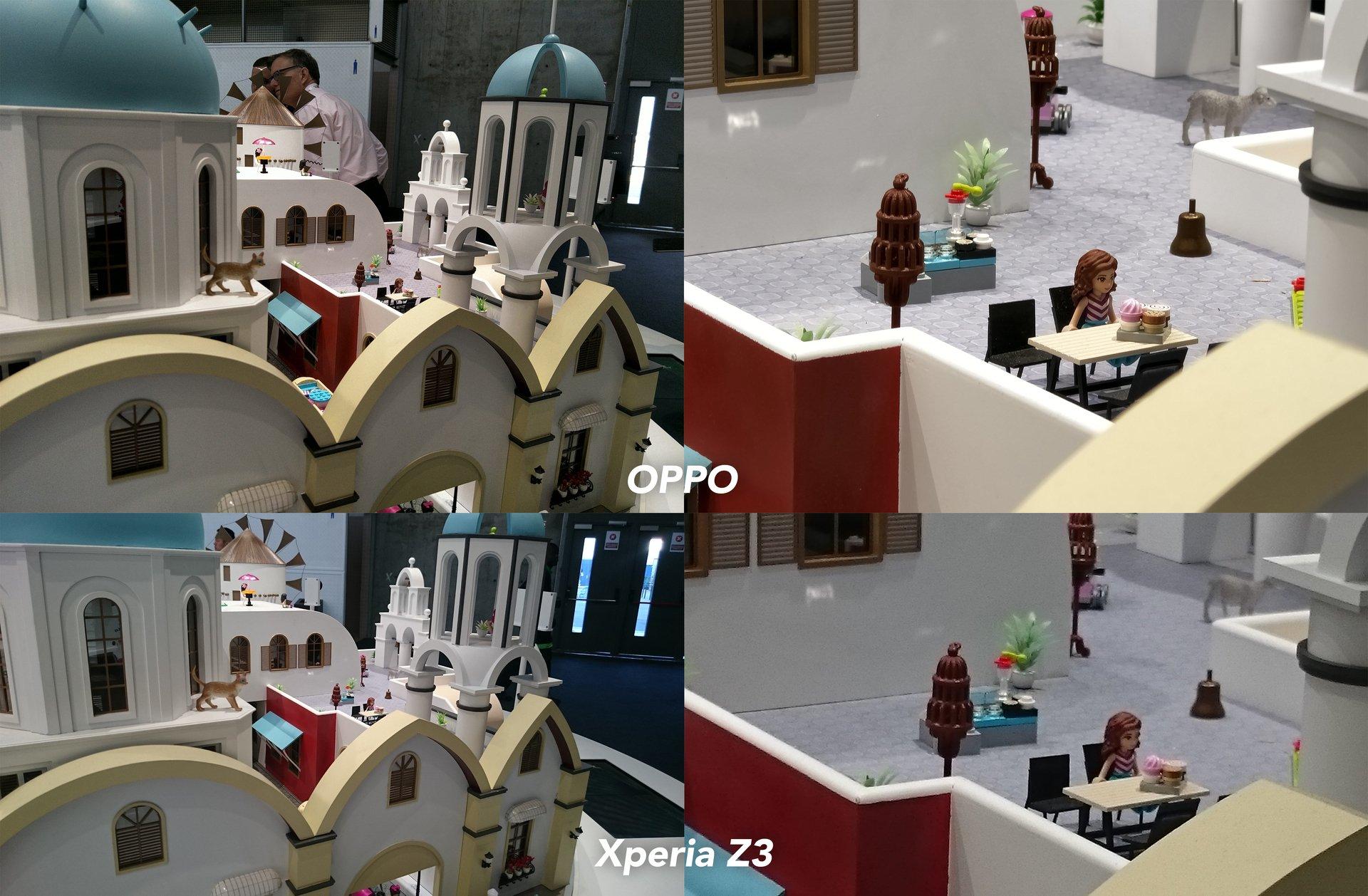 Oppo 5x zoom vs Xperia Z3