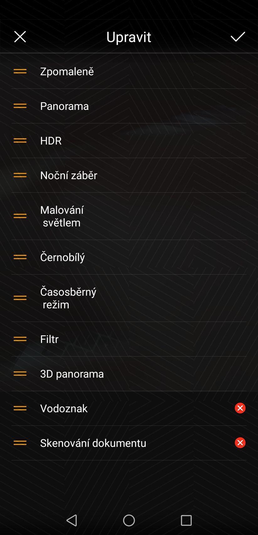 Panorama Huawei P20 Pro