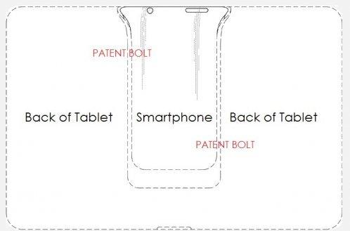 Patent na hybridní zařízení Galaxy Hit
