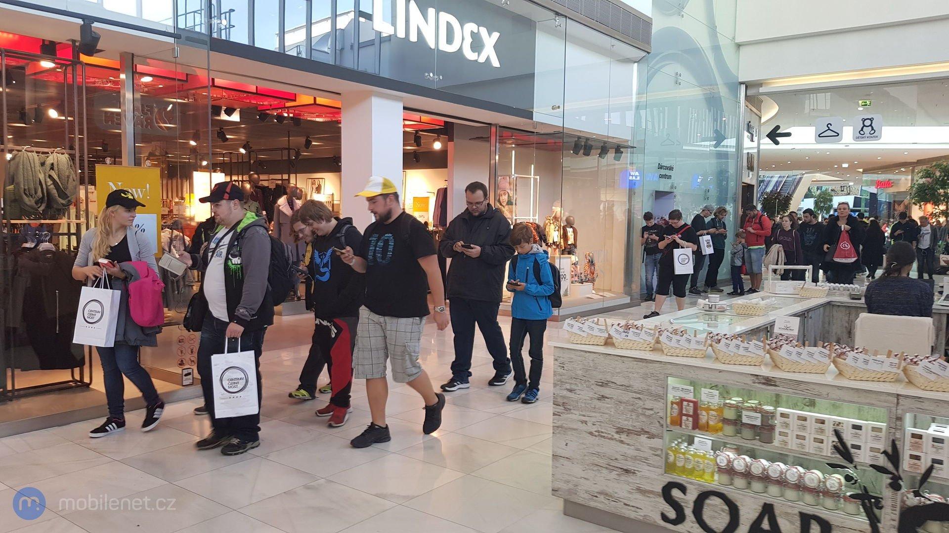 Pokémon GO Safari zone event v Praze