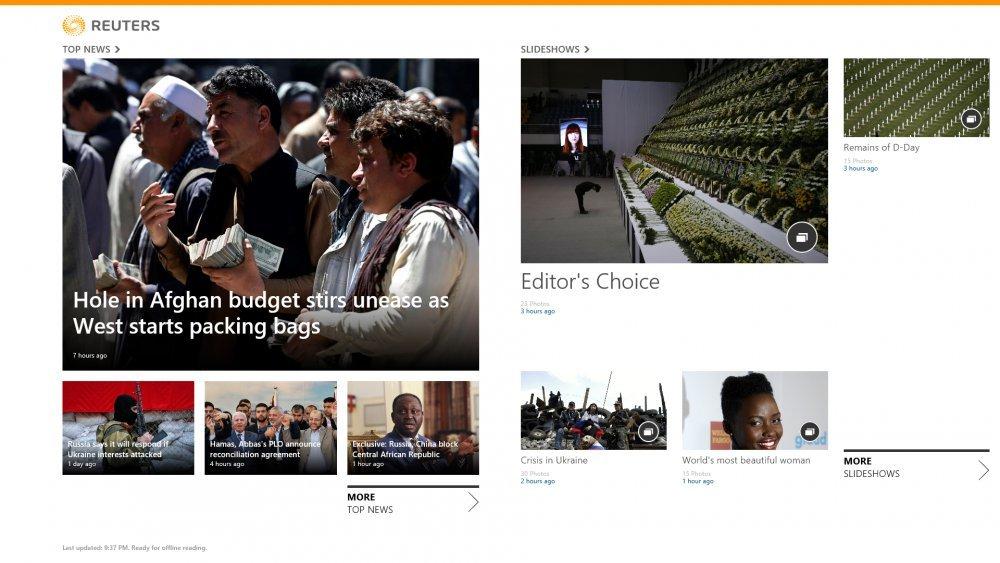 Reuters - Windows 8
