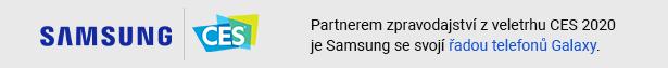 Partnerem zpravodajství z veletrhu CES 2020 je Samsung