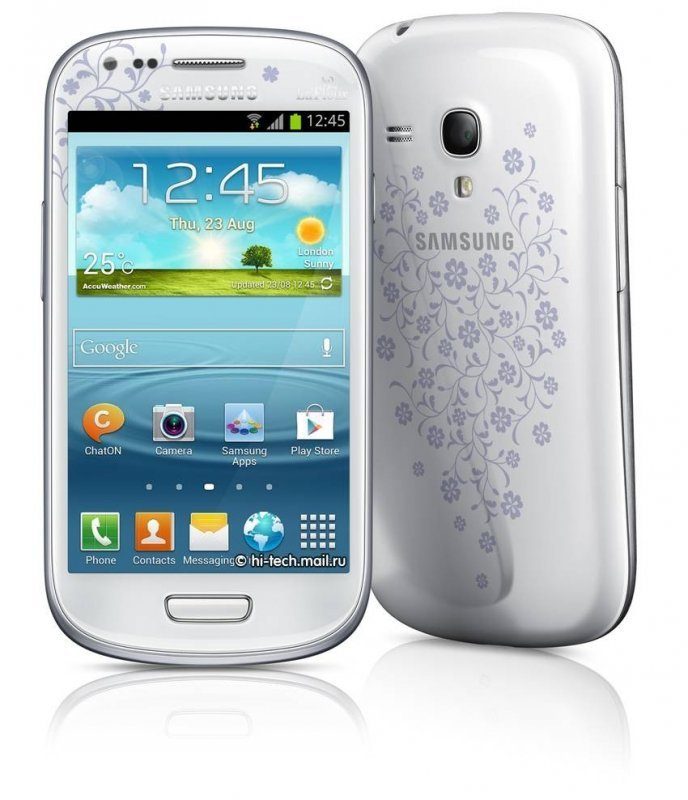 Samsung Galaxy S III mini La Fleur