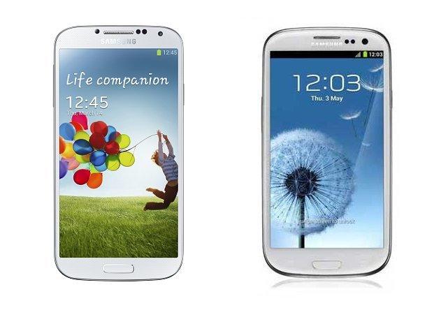 Samsung Galaxy S4 a S III