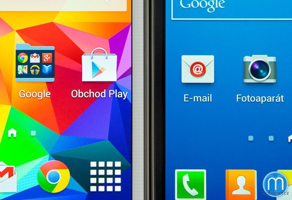 Samsung Galaxy S5 vs. Galaxy S4