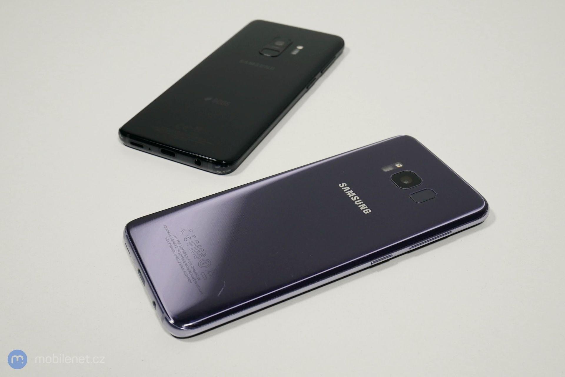 Samsung Galaxy S9 a Samsung Galaxy S8