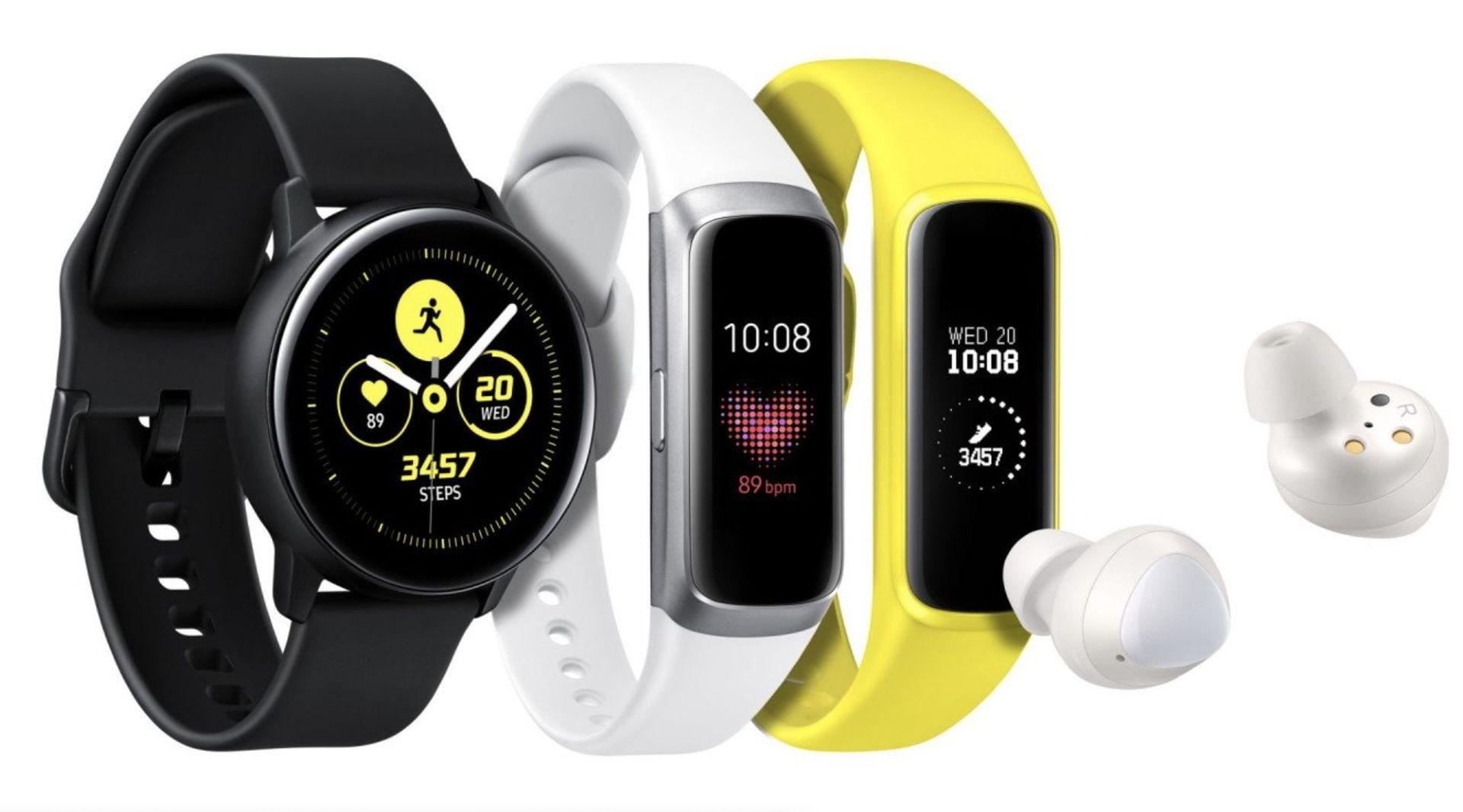 Samsung Galaxy Watch Active a Galaxy Fit