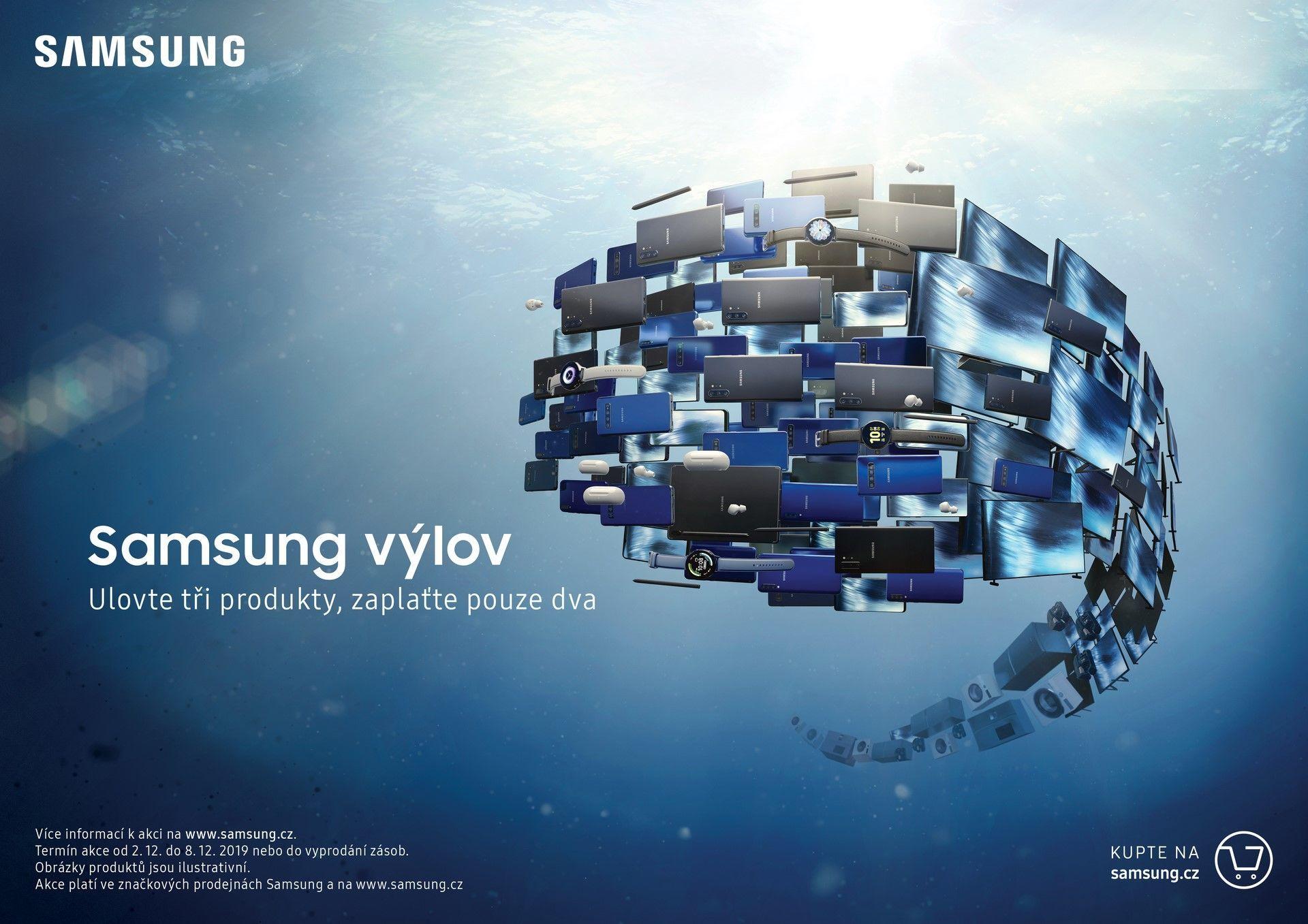Samsung výlov