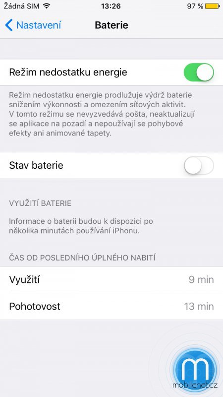 Screen iOS 9