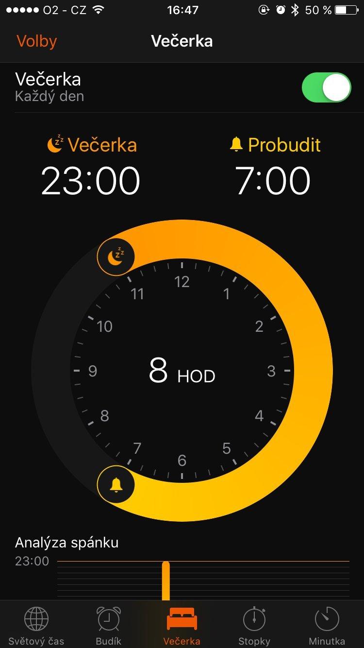 Screeny iOS 10