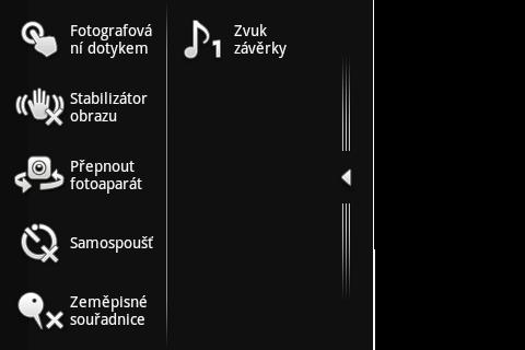 Sony Ericsson Live with Walkman - fotoaparát