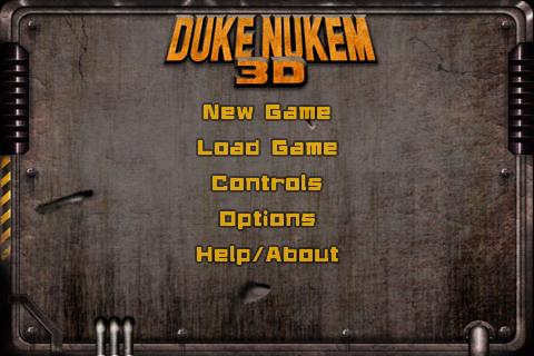 Sony Ericsson Live with Walkman - test hry Duke Nukem 3D
