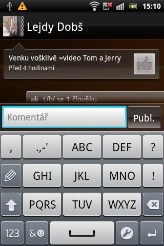 Sony Ericsson Live with Walkman - timescape