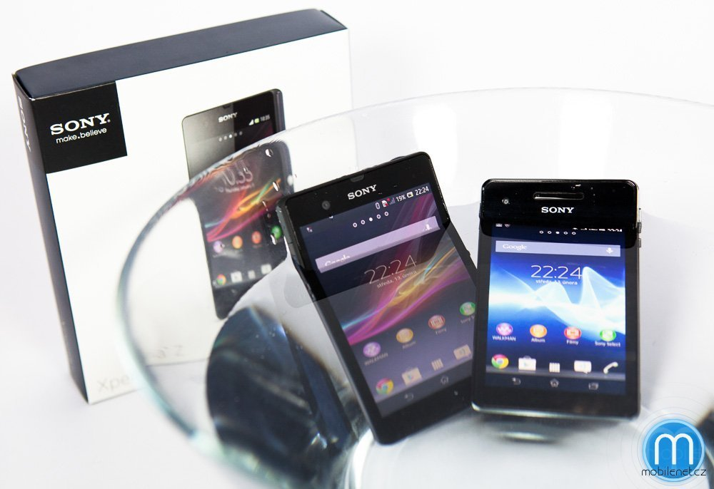 Sony Xperia Z a Xperia V