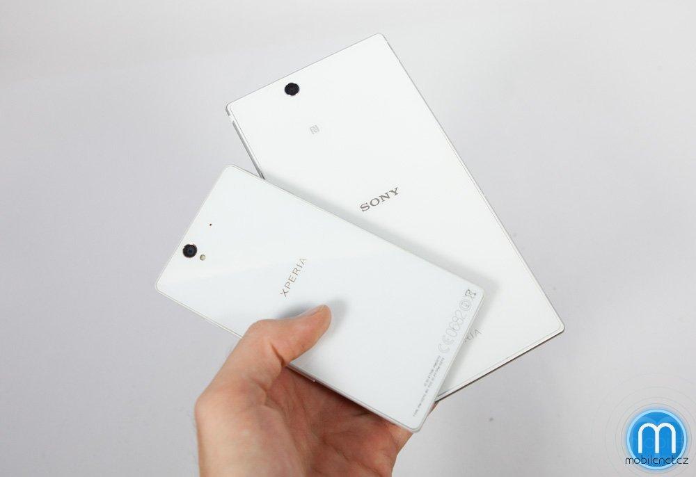 Sony Xperia Z Ultra vs. Xperia Z