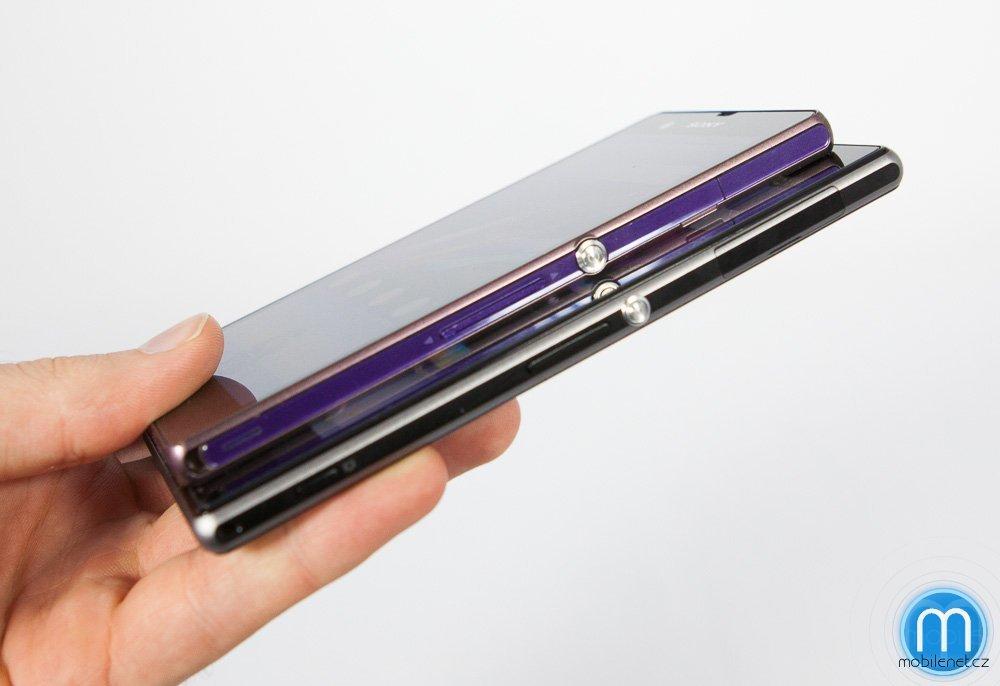 Sony Xperia Z1 vs. Xperia Z