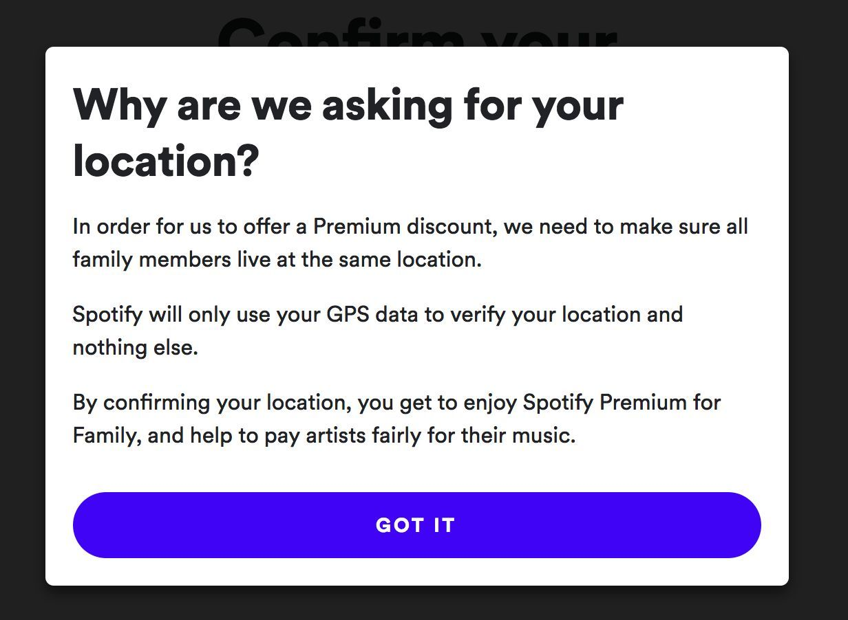 Spotify Premium for family