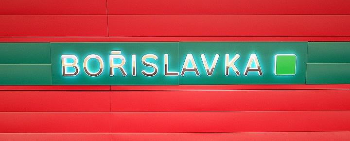 Stanice metra Bořislavka