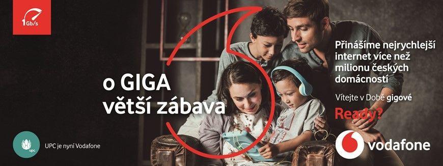 Vodafone gigabitová síť