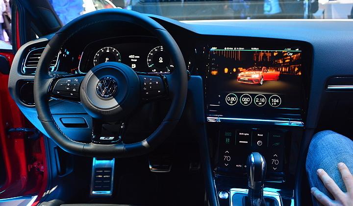 Volkswagen dotykové ovládání na CES