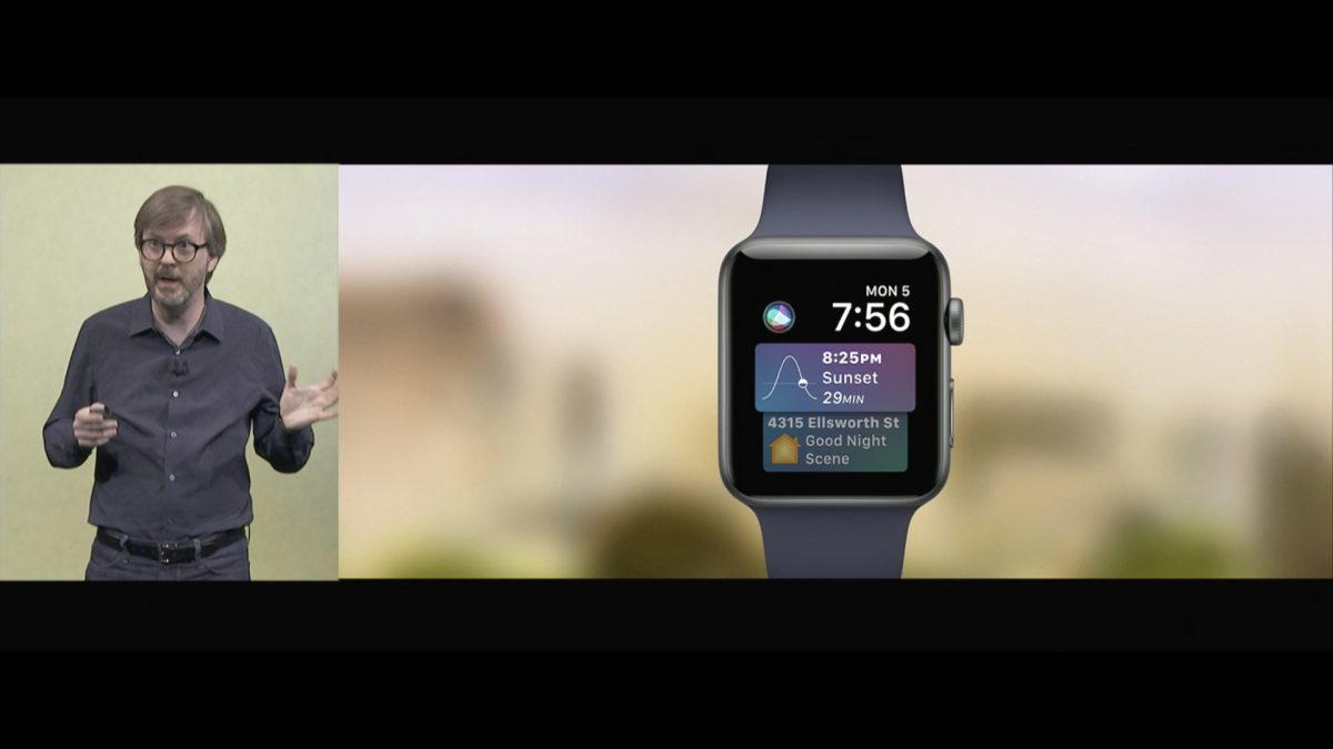 watchOS 4 Siri watchface