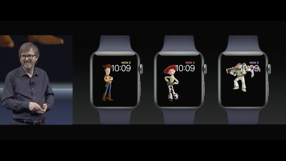 watchOS 4 toy story
