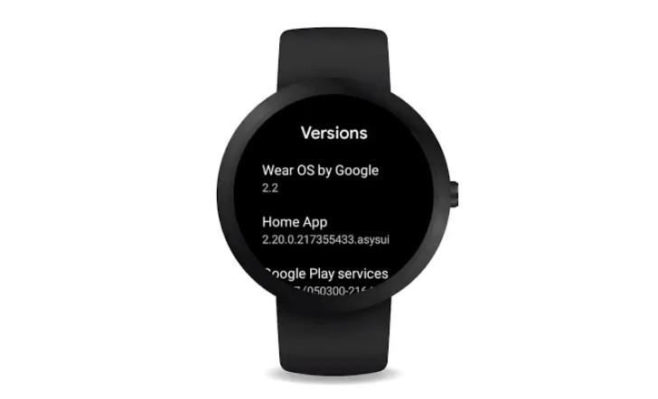 Wear OS 2.2