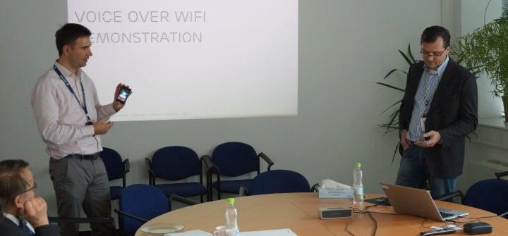 Wi-Fi call