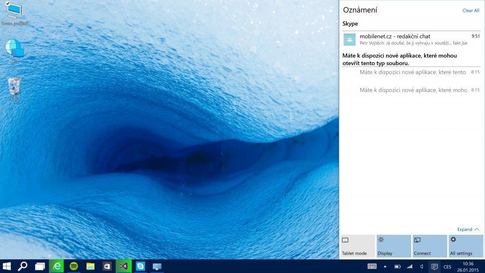 Windows 10 - lednové vydání